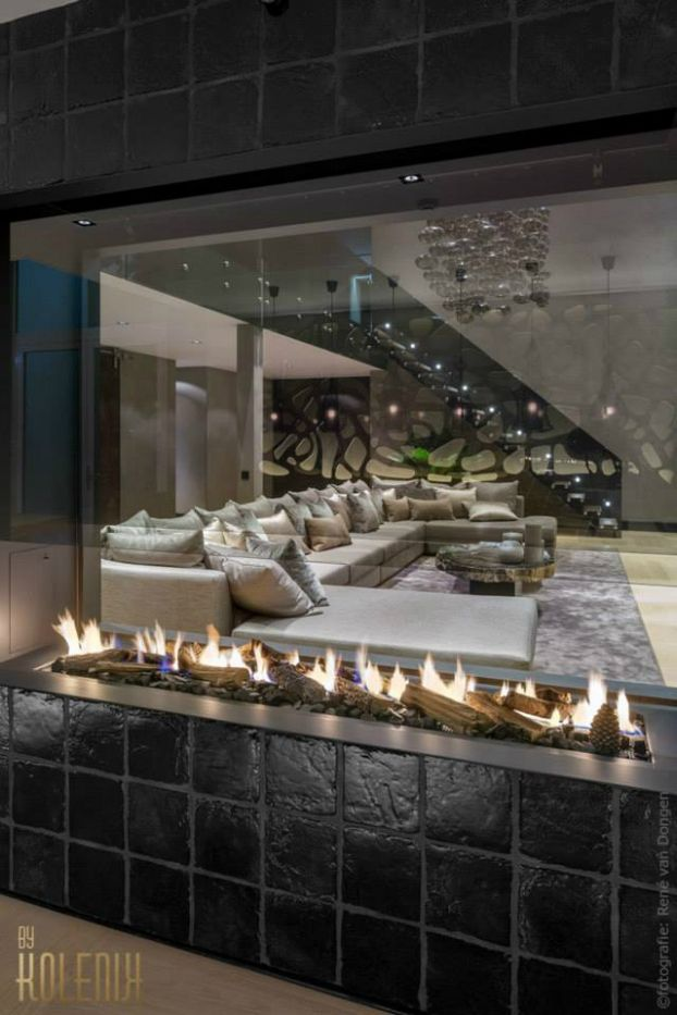 contemporary luxurious home interior design kolenik 4 - checkout that electric fireplace.
