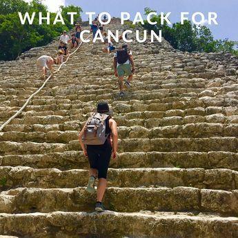 What to Pack for Cancun | Tulum, Riviera Maya, Playa Del Carmen | Venuelust