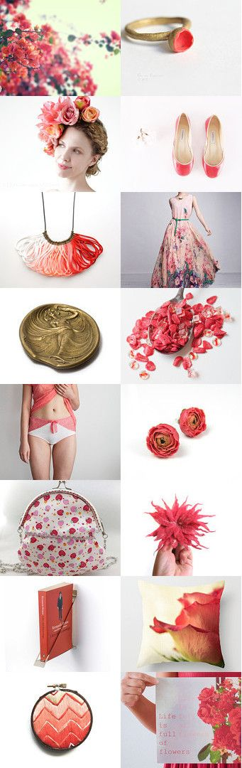 Flower Power by Tatin on Etsy--Pinned with TreasuryPin.com