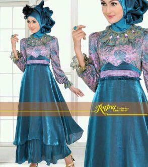 Modern Kebaya Dress for Muslimah