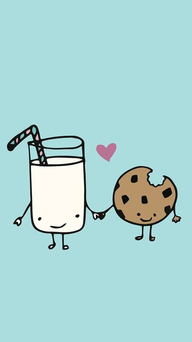 WE GO TOGETHER LIKE MILK       AND COOKIES!