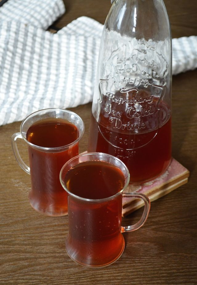Lemon-Mint Iced Tea: Cold brewed iced tea with a hint of mint and ...