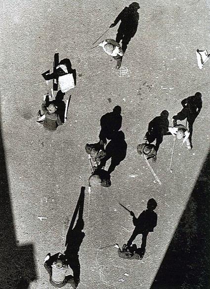 Alexander Rodchenko,Street From Above, 1925