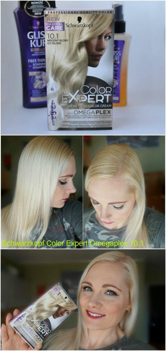 Schwarzkopf Color Expert Omegaplex 10 1 Icy Blond