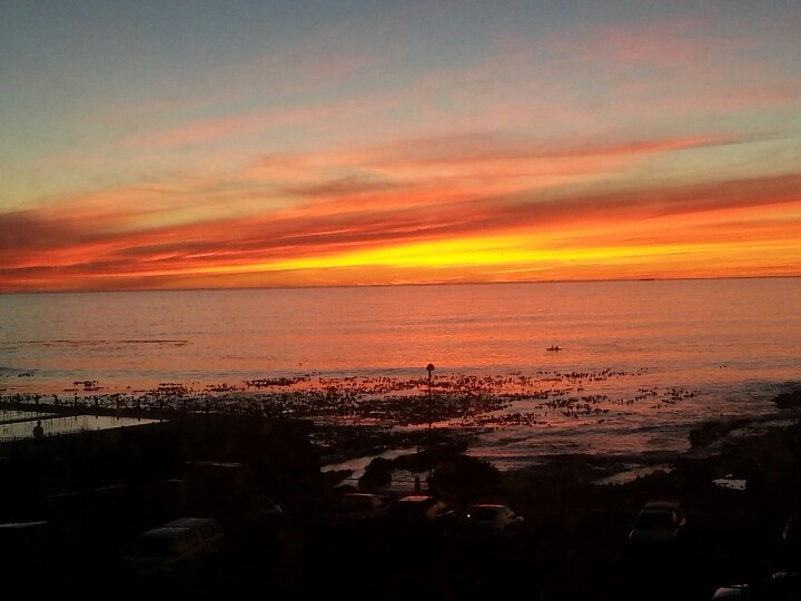 Sunset at home in the Mother City...