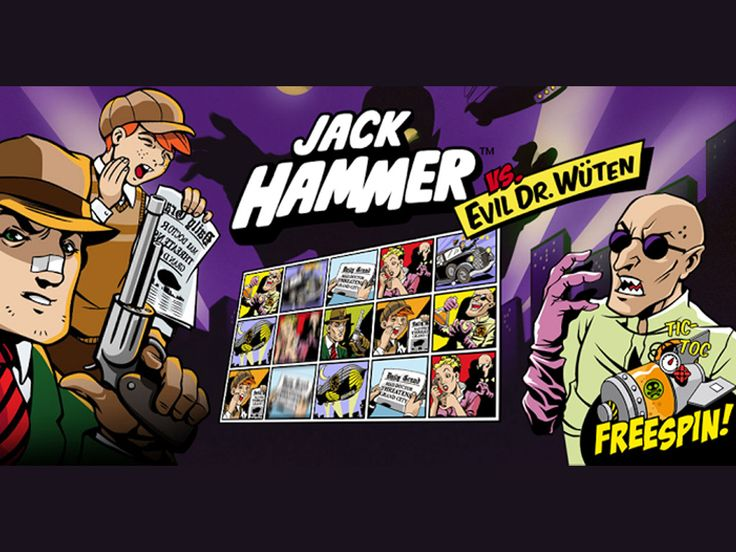 Jack catches the thugs , want to catch them too http://www.kasino.se/slots/jack-hammer/