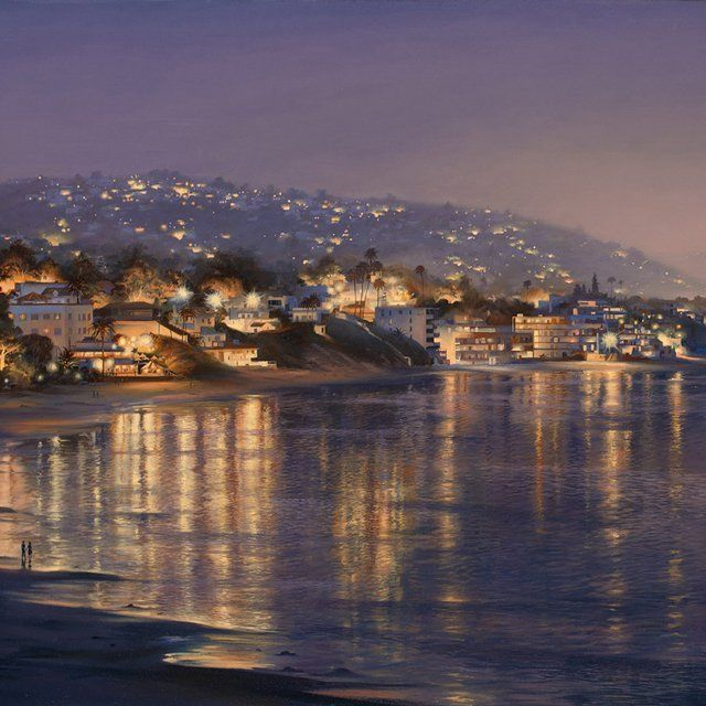 Evgeny Lushpin - collection of the artist. Laguna Beach Weekend (2012)