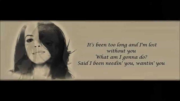 Aaliyah - Miss You Lyrics HD