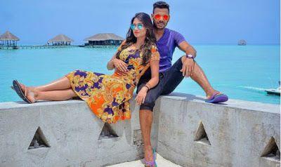 Maldives Holiday Tour: Indian cricketer Manoj Tiwary & wife Sushmita Roy holidays in Maldives