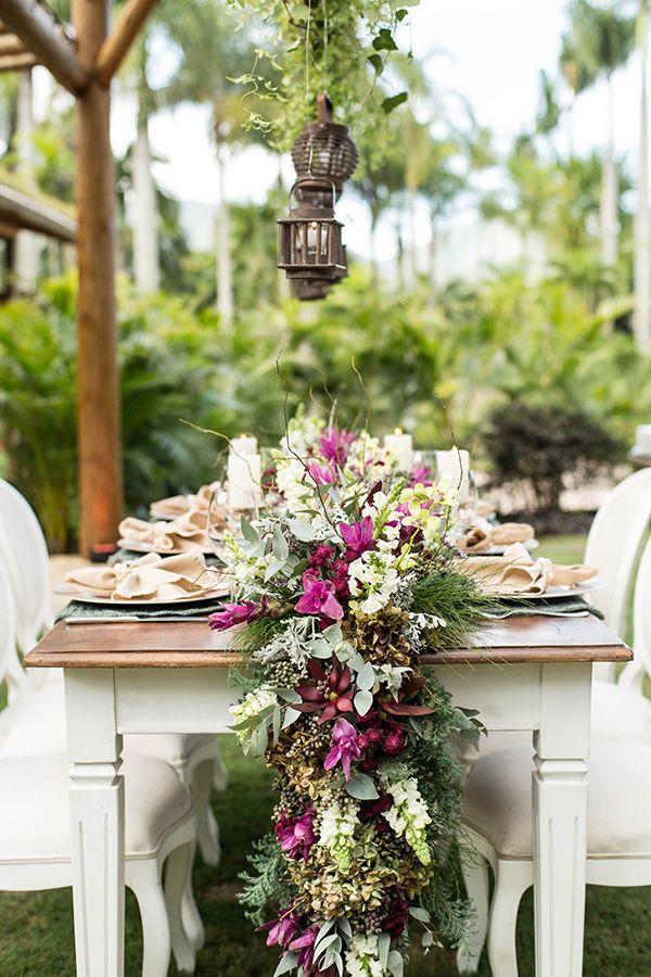 Decoração de casamento ao ar livre no Lago Buriti - Constance Zahn | Casamentos