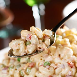 A must-have summer side dish!  Try this All-American Macaroni Salad from @David Venable QVC #recipe