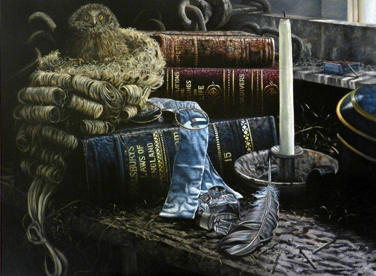 Beginnings of Wisdom - Oil on Canvas - www.paulconey.com