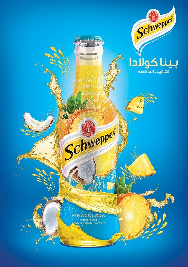 Schweppes on Behance