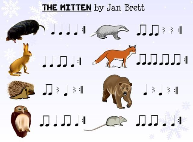 ♫ We ❤️ Music @ HSES! ♫: The Mitten