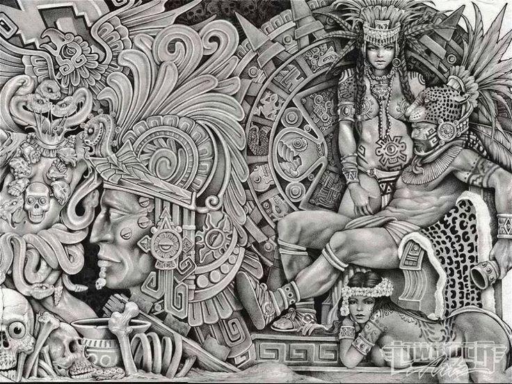 13 best Aztec Pride images on Pinterest | Aztec, Brown ...