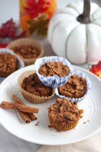 Paleo Pumpkin Spice Muffins (AIP) | Fed and Fulfilled