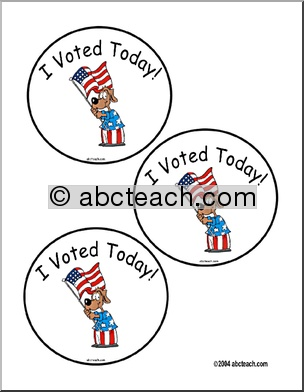 Election Day Theme Unit - Free Printable Worksheets, Games, and Activities for Kids | abcteach
