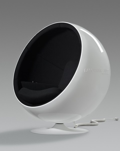 The Ball Chair, designed by Eero Aarnio in 1963, is one of the best known and best loved classics of Finnish design