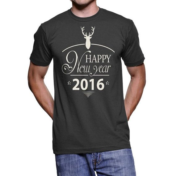 Deer Happy New Year 2016 by NavFifteen on Etsy
