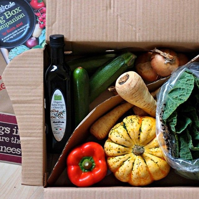 We love this snap Sarah took of her colourful organic bounty.