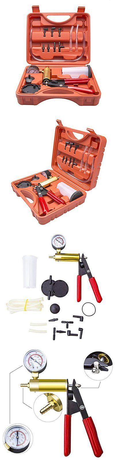 Multi-Tools 46459: Ouryes Hand Held Vacuum Pump Tester Set Vacuum Gauge And Brake Bleeder Kit Fo... -> BUY IT NOW ONLY: $33.45 on eBay!