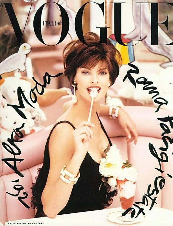 Alta Moda - Supplement I Vogue Italia I March 1992 I Model: Linda Evangelista I Photographer: Steven Meisel.