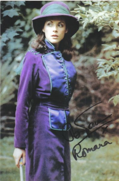Mary Tamm Doctor Whos Romana Autographed Picture in Collectibles, Science  Fiction & Horror, Dr.