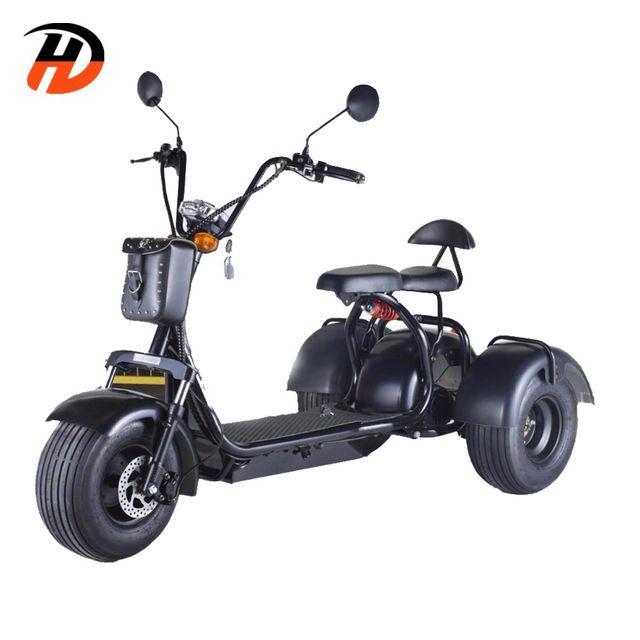 Source 2018 Best Seller 1500w 3 Wheel Electric Scooter 3 Wheel