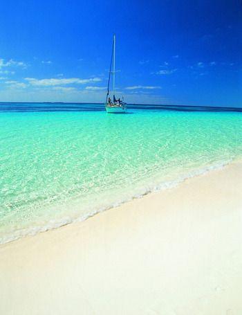 Playa Sirena en Cayo Largo (Cuba)