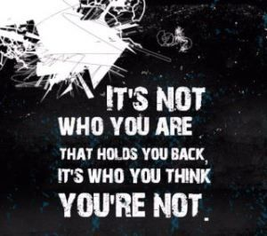 Who u are vs. who you think ur not