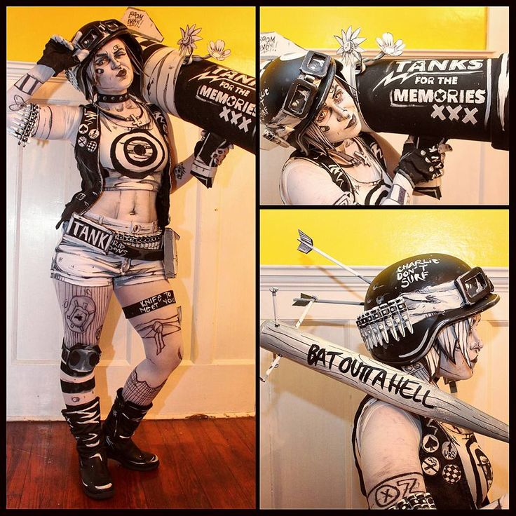 Let's keep today's awesome cosplay streak going a look at Emma Rubini's outstanding monochrome Tank Girl cosplay. She looks like she just stepped out of the pages of Jamie Hewlett and Alan Martin's iconic comic book:   Follow Emma Rubini on Instagram or Facebook to check out more of her amazing cosplay creations.   [via Fashionably Geek]