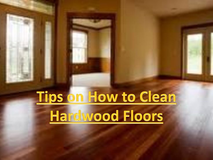 To damp-mop wood floors, use plain water or a water-based floor - 70 Best Cleaning - Floor Images On Pinterest