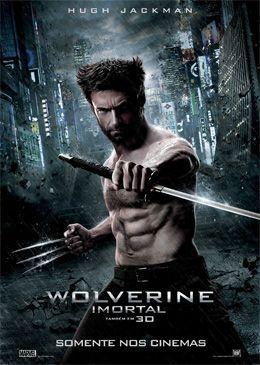 """WOLVERINE - IMORTAL  """"A viagem de Logan (Hugh Jackman) ao Japão, o encontro do amor nos braços de Mariko Yashida (Tao Okamoto) e a necessidade do herói de enfrentar sua selvageria interior."""""""