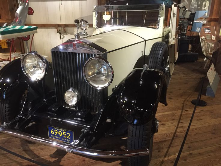 The Gnome-Mobile 1930 Rolls-Royce Phantom ll Sedanca DeVille