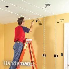 Run electrical cable through walls and across ceilings without tearing them apart