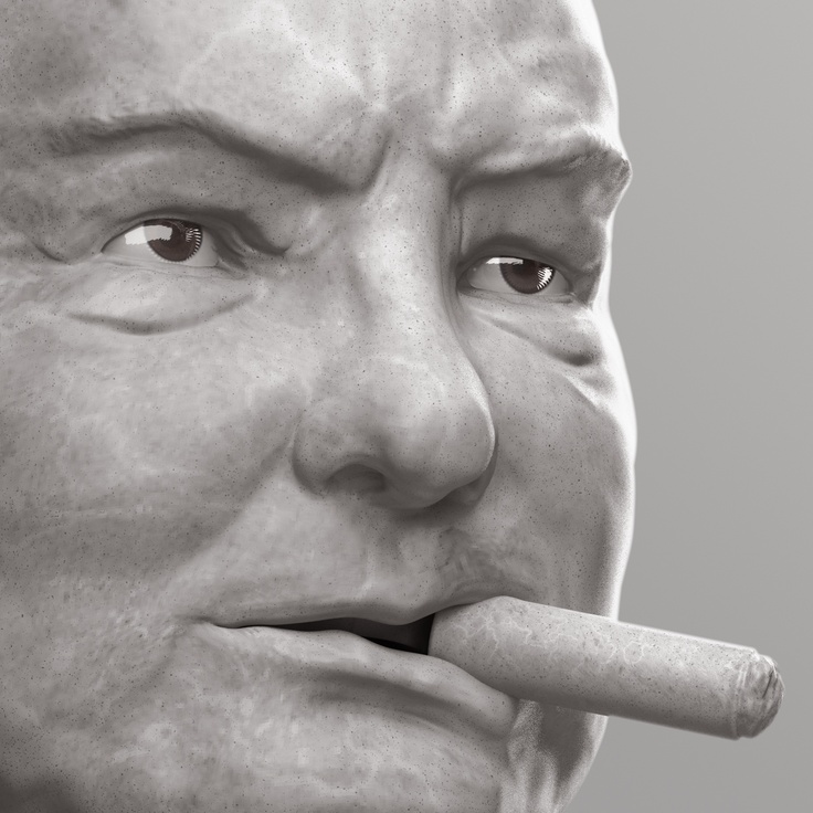 Churchill - close up