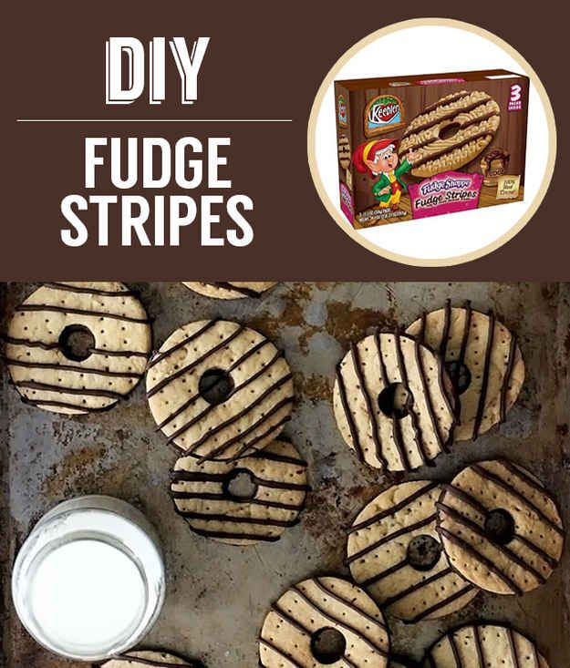Homemade Keebler Fudge Stripes | 27 Classic Snacks You'll Never Have ...