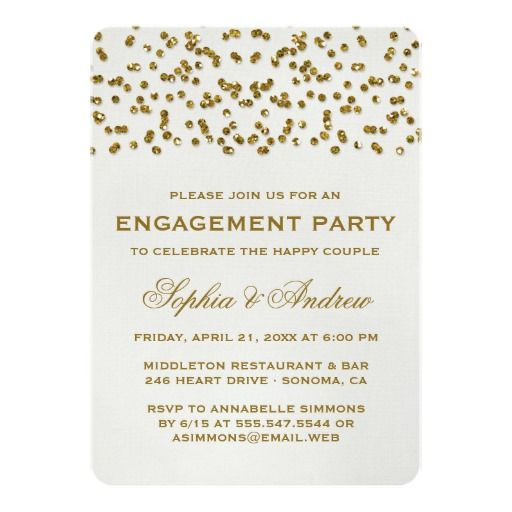 The 25+ best Engagement confetti ideas on Pinterest Engagement - how to word engagement party invitations