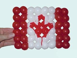 Канадский Флаг Инструкции Плетение из шариков