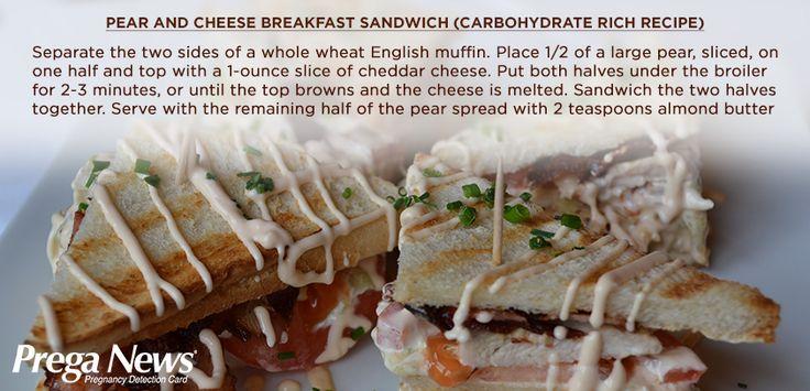 Yummy peach sandwich #breakfast! #Recipe