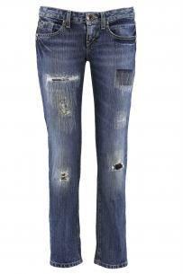 Как состарить новые джинсы