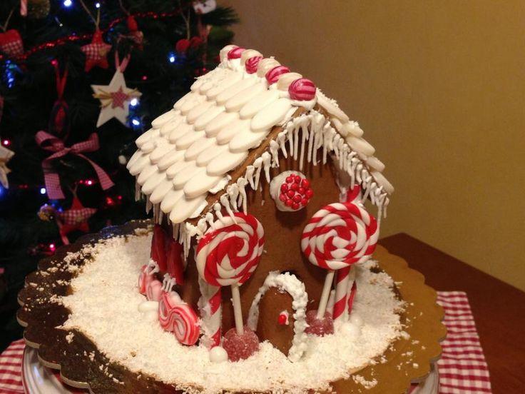 Christmas 2013 gingerbread house