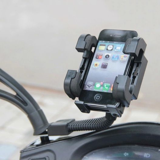 >> Click to Buy << Rearview Mirror Motorcycle Phone Holder With Stand Support for iPhone67 Plus GPS Bike Holder with Soporte Celular Moto ForXiaomi #Affiliate