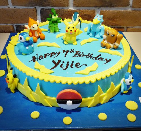 32 best Cakes Pokemon images on Pinterest Pokemon cakes Pokemon
