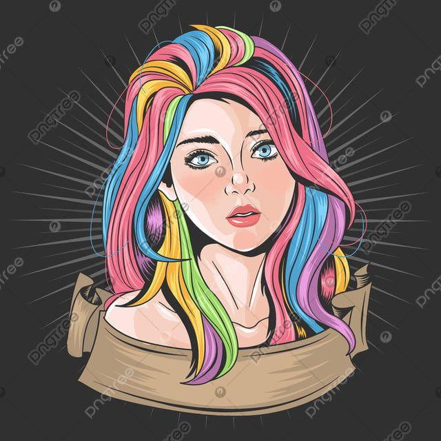 Nina Hermosa Cara Con Cabello A Todo Color Y Ojos Azules Ilustraciones Vectoriales Nina Girly Muchachas Png Y Vector Para Descargar Gratis Pngtree Eyes Artwork Rainbow Cartoon Beautiful Girl Face