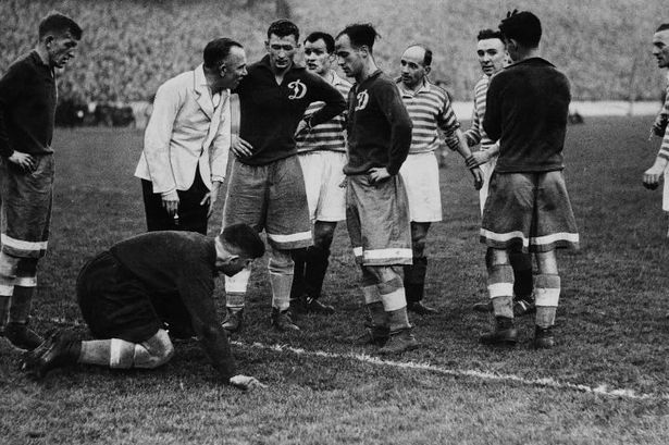 Rangers v Dynamo Moscow in 1945. (Photo: Daily Record)
