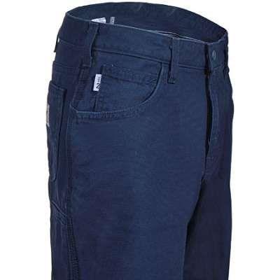 Carhartt Jeans: Women's WFRB159 DNY Navy Flame Resistant Canvas Jeans - Women's Carhartt Jeans - Carhartt Women - Workwear