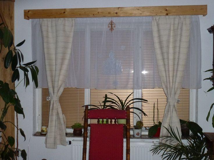 Záclona a závěsy - zrekonstruovaný dům v Jiříkově