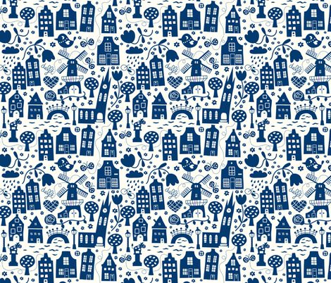 Cityscapes fabric