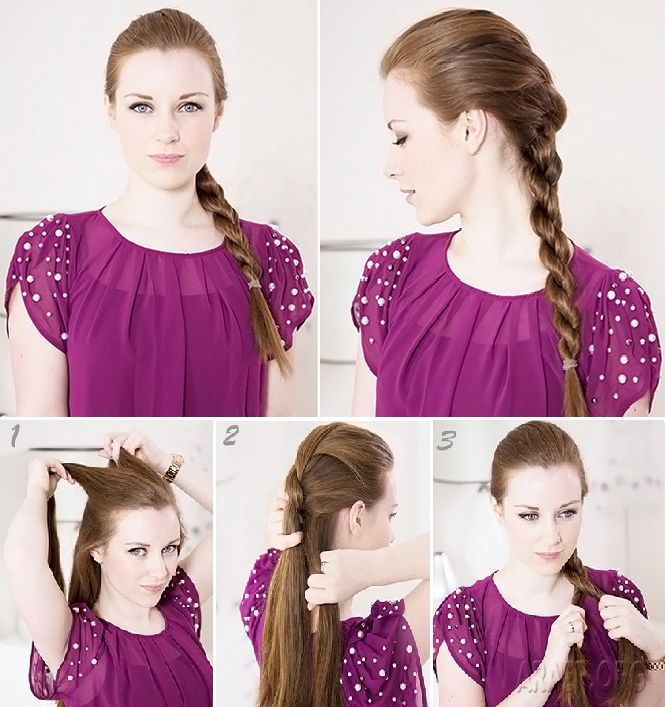 DIY Cute Quick Hairstyles for School Step By Step - http://araer.org/diy-cute-quick-hairstyles-for-school-step-by-step/